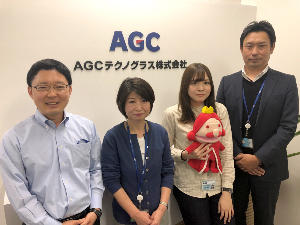 AGCテクノグラス様の写真